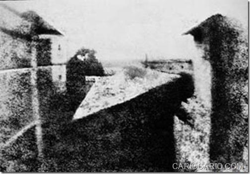A PRIMEIRA FOTOGRAFIA DA HISTÓRIA (1826)