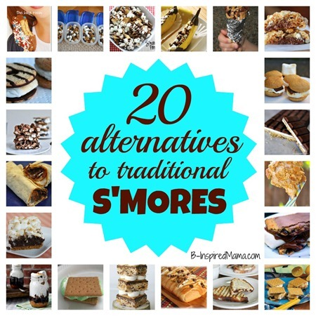 Smores ALternatives Collage