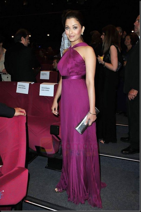 Aishwarya Rai Bachchan attends the IL GATTOPARDO premiere at the Salla DeBussy during the 63rd Annual Cannes Film Festival on May 14, 2010 in Cannes, France (2)