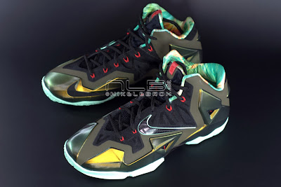 lebron11 king of the jungle 05 web dark LEBRON 11 Breakdown: Yes, its True to Size & Yes, its the Lightest LBJ Sig!