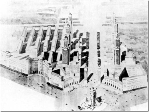 Obras arquitectónicas para Barcelona y no construidas