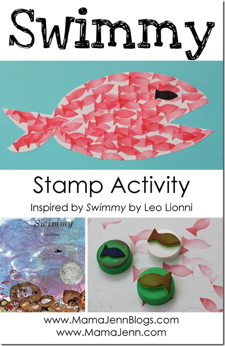 Swimmy by Leo Lionni Fish Stamp Activity