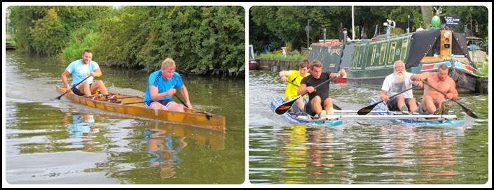 1 Racing Canoes