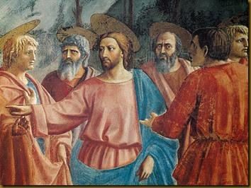 JESUS ANUNCIA SU PASION A SUS DISCIPULOS