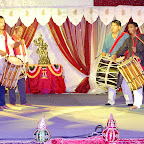 Drummers from Kereal Hind org on stage Janmashtami 2010.jpg