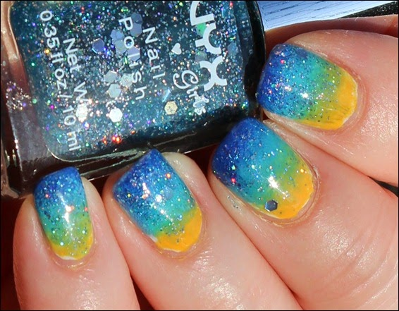 Outtakes Tropical Island Ocean Sea Nageldesign Nail Art
