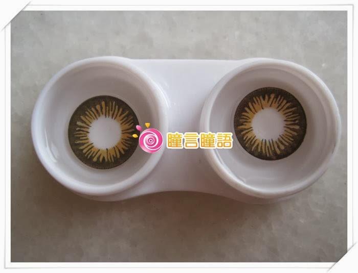 日本EOS隱形眼鏡-Big Size咖3