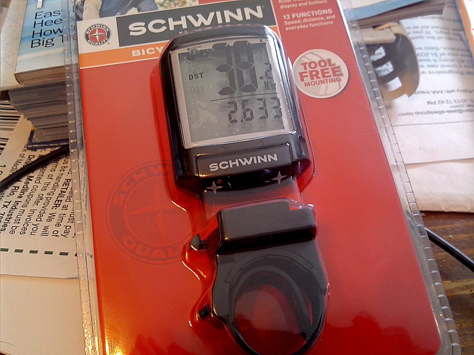 schwinn 11 function bike computer manual