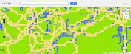 [Kuso] Google Maps很認真的愚人節惡搞-勇者地圖!
