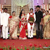 Choreo graphers shobi and lalitha wedding reception stills