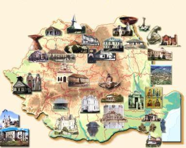 Harta Romaniei neturistice