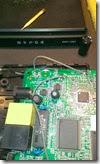 D-Link DAP-1360 выпаиваю заводской электролитический конденсатор фильтра