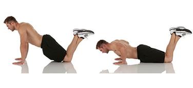 Gambar Push Up Lutut