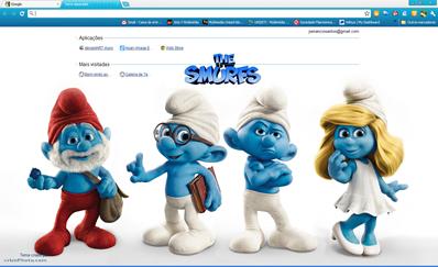 Smurfs - novo separador