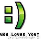 smile god loves you emoticon