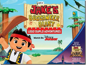 Jake DUPLO®  Adventure premiers on October 26th