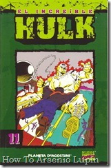 P00011 - Coleccionable Hulk #11 (de 50)