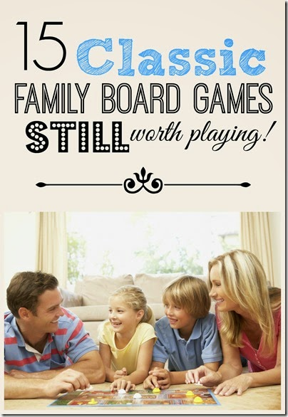 Family Games~ These classic family games would make great Christmas present ideas for kids or families who love playing games together or to pick up for a fun family game night.