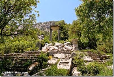Termessos Hadrian propylon and Artemis temple, tb062506813