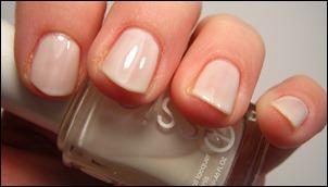 Essie Marshmallow Swatch