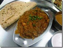 chicken sukha thali