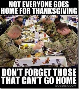 not everyone goes home for thanksgiving