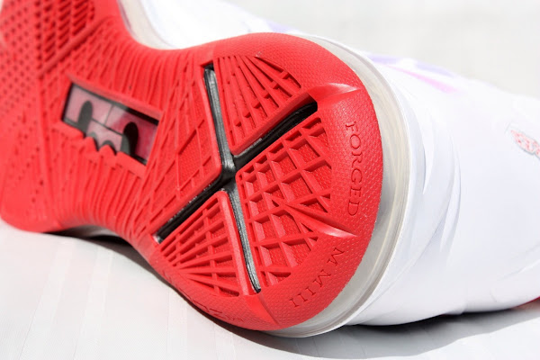 PE Spotlight  Nike LeBron X Miami Heat 8220Red Bottom8221 Home PEs
