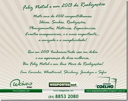 Cartão Boas Festas 2013 - Cópia
