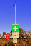 The Only Way To Get Help Out Here - Yulara, Australia