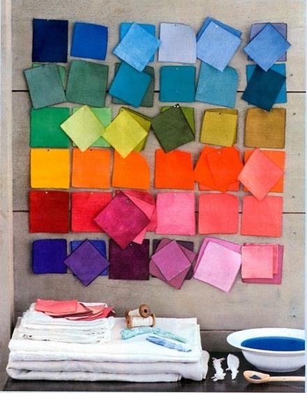 Färger, Pinterest