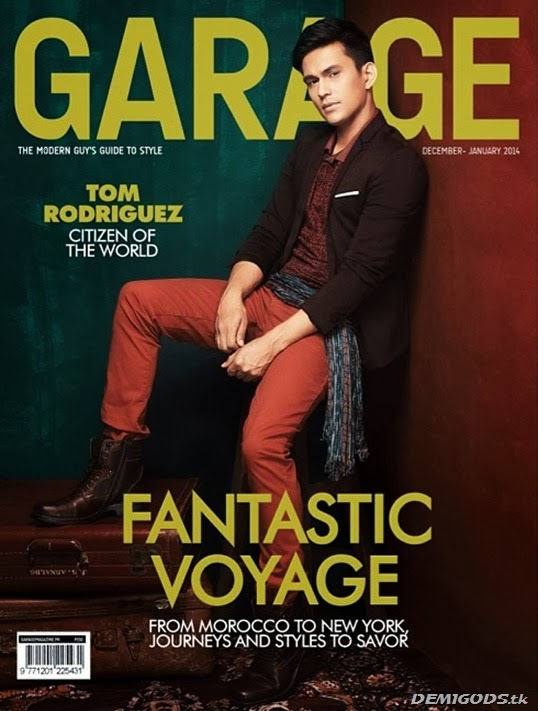 Tom Rodriguez Garage magazine