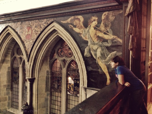Victorian Chapel Mural, Victorian Bakery Oven  ,Art Inspiration at Petworth House , West Sussex , Victorian Era Aestetics