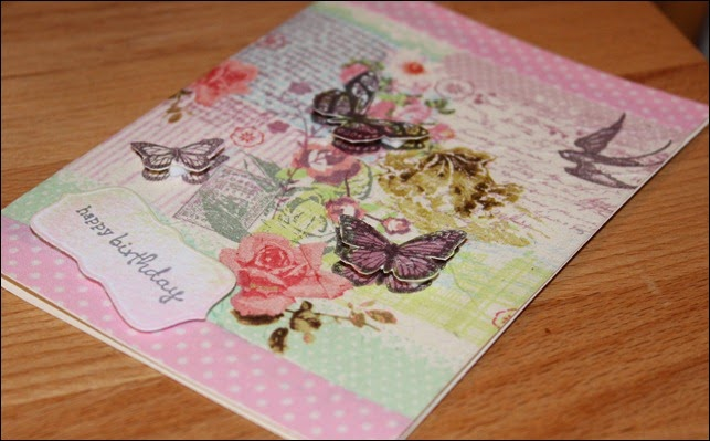 Grußkarte Washi Tape