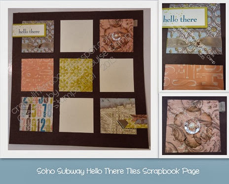 soho subway gorgeous grunge scrapbooking Check it out at craftylittlemoos.blogspot.com Created by Charlie-Louise Camp Images Stampin' Up! © 2013 04-10-2013 14-04-12