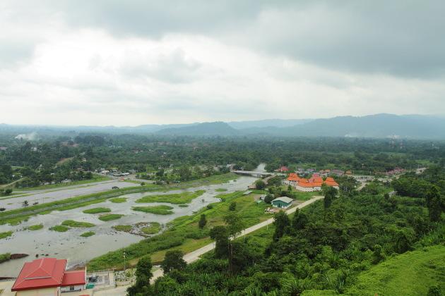 View from Khun Dan Prakarnchon Dam, Nakhon Nayok, Thailand