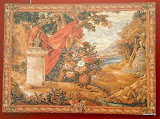 Gobelin 1122, Bouquet au drape, 150x200cm, 110x150cm