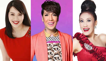 Kris Aquino, Vice Ganda, Ai-Ai de las Alas