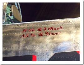 F-84G Four Queens Plane