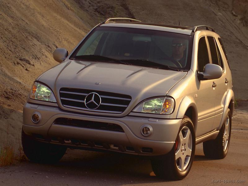 2001 mercedes benz m class ml55 amg specifications for Mercedes benz ml 55
