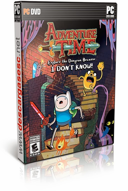 Adventure Time Explore The Dungeon Because I DONT KNOW Inc Peppermint Butler DLC READNFO-CPY-pc-cover-box-art-www.descargasesc.net