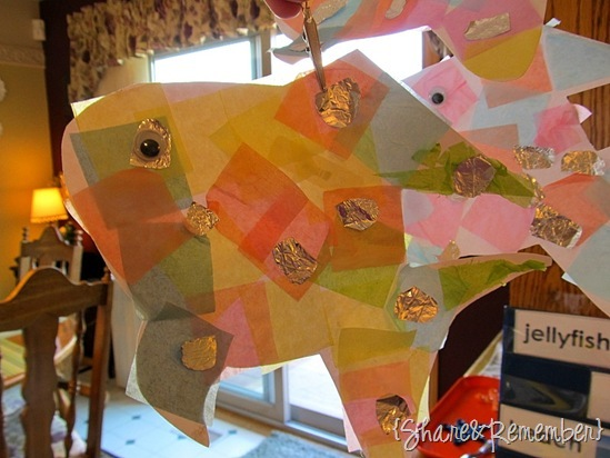 Rainbow Fish Story, Craft, Activity {Oceans}