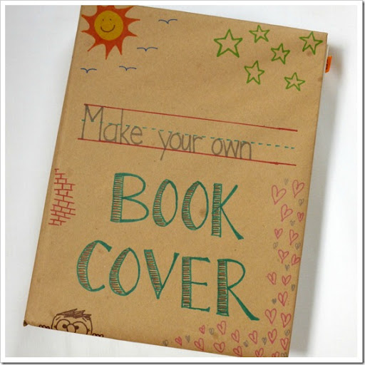Abernathy Crafts: Old school book covers