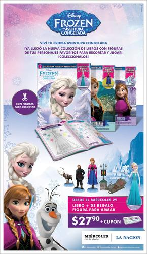 Coleccion frozen una aventura congelada de diario la for Revistas del espectaculo