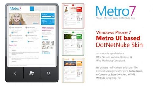 01-Metro-7-Free-Windows-Phone-7-Metro-UI-Based-DotNetNuke-Skin