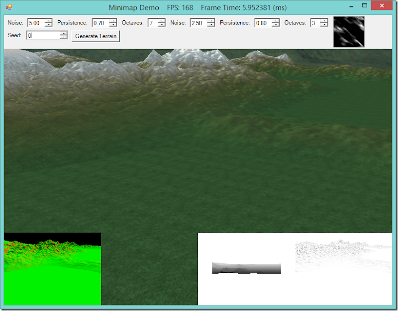 Adding Shadow-mapping and SSAO to the Terrain