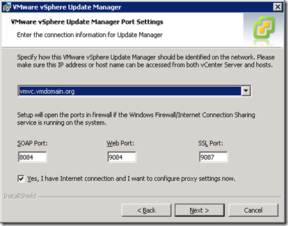 11_Update Manager Port Settings