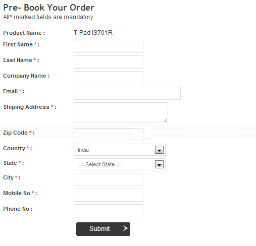 bsnl-tablet-booking-form