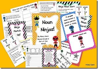 Noun Ninjas