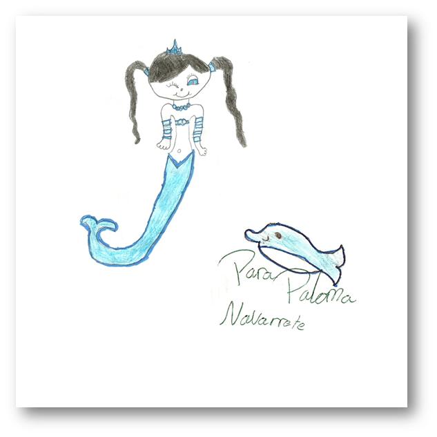 Hada Melusina por Lola para Paloma Navarrete