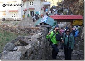 Entrada do Parque Nacional Sagarmatha